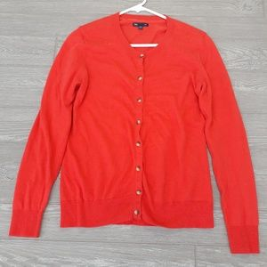 Gap womens button up cardigan sweater size L